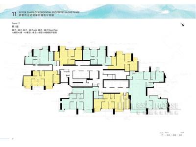 日出康城6期 第2座 42樓至43樓,45樓至53樓及55樓至58樓
