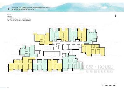 日出康城6期 第3座 03樓,05樓至12樓及15樓至21樓