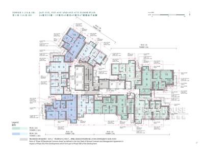 日出康城7B期 第1座(1a&1b) 26樓-47樓