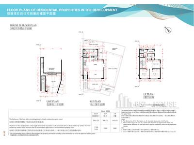 皇府灣 30洋房低層地下,地下及01樓