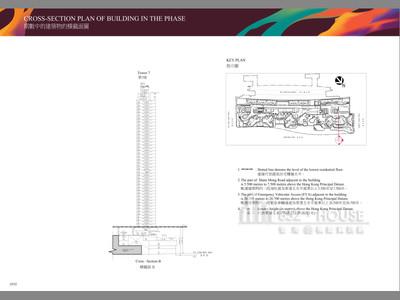 匯璽III 橫截面圖 B