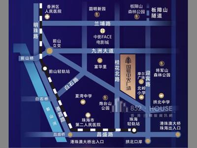 國維中央廣場 國維中央廣場位置圖